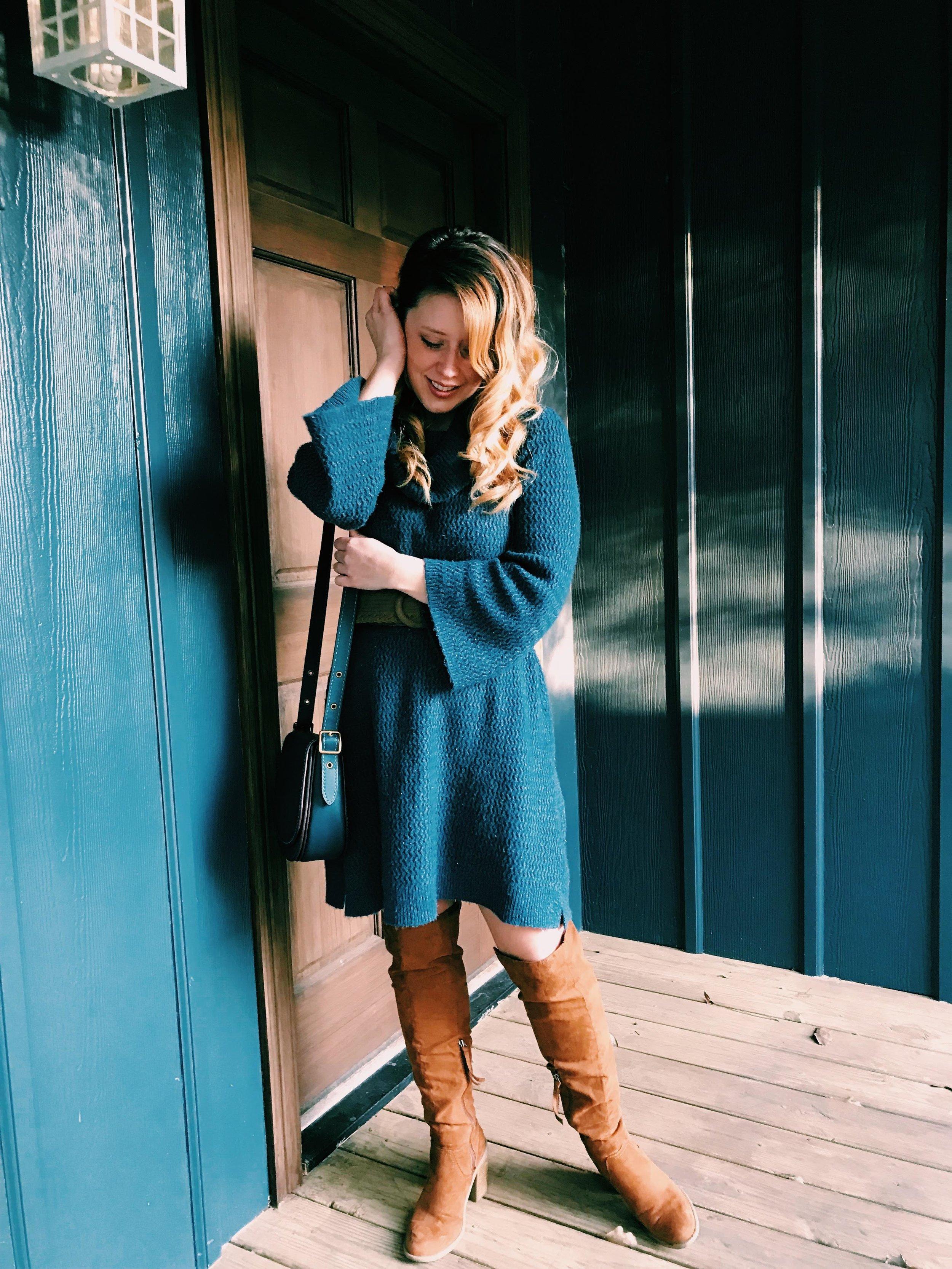 Three Heel Clicks - Styling a Sweater Dress from LOFT (3).jpg