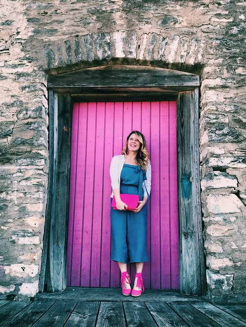 Three Heel Clicks - 5 on Fridays - Five Ways to Wear Hot Pink (1).jpg