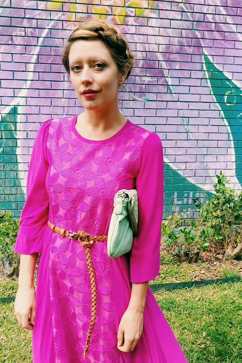 Three Heel Clicks - 5 on Fridays - Five Ways to Wear Hot Pink (6).jpg