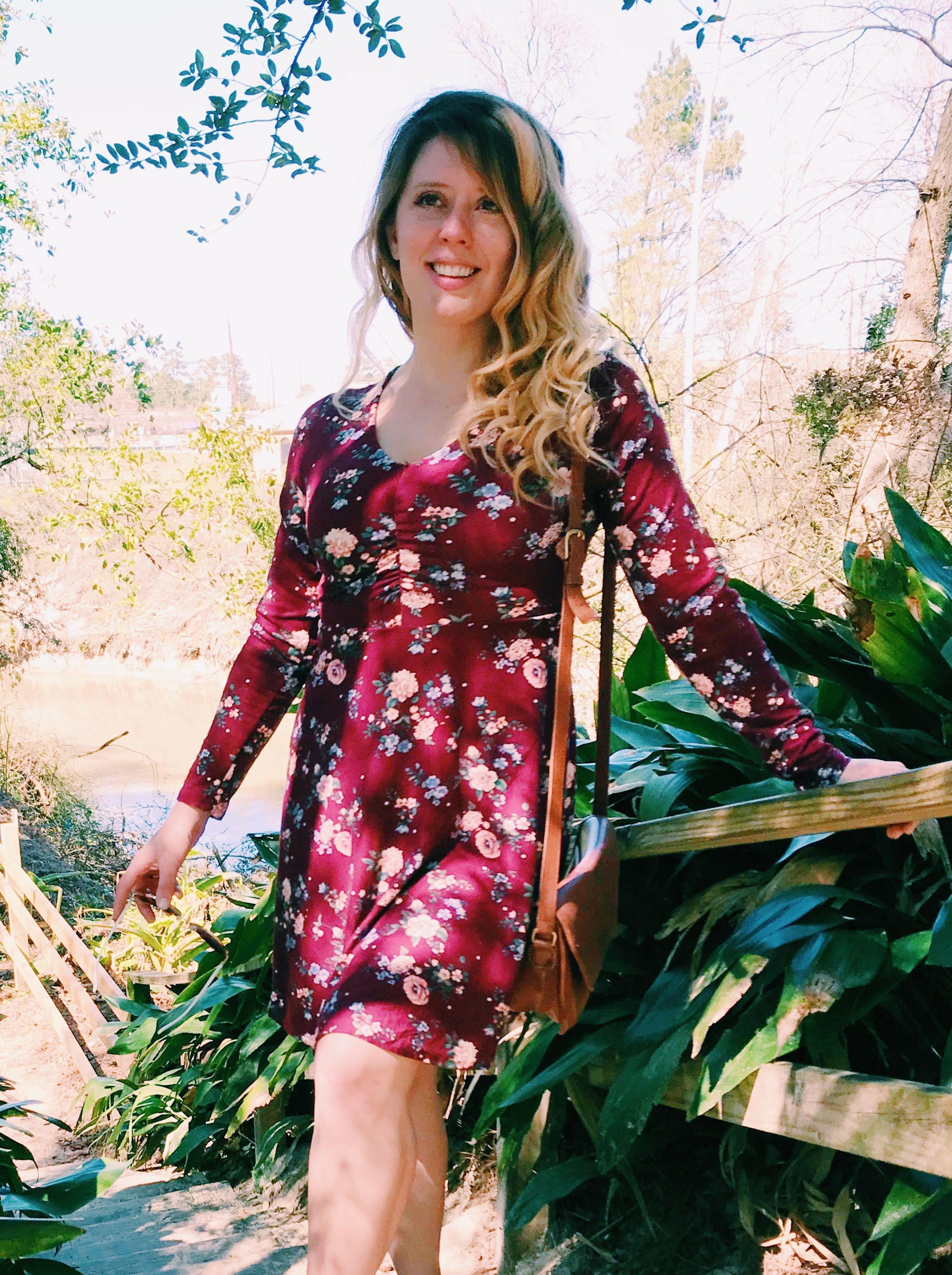Three Heel Clicks - Three Looks with a Floral Spring Dress (11).jpg