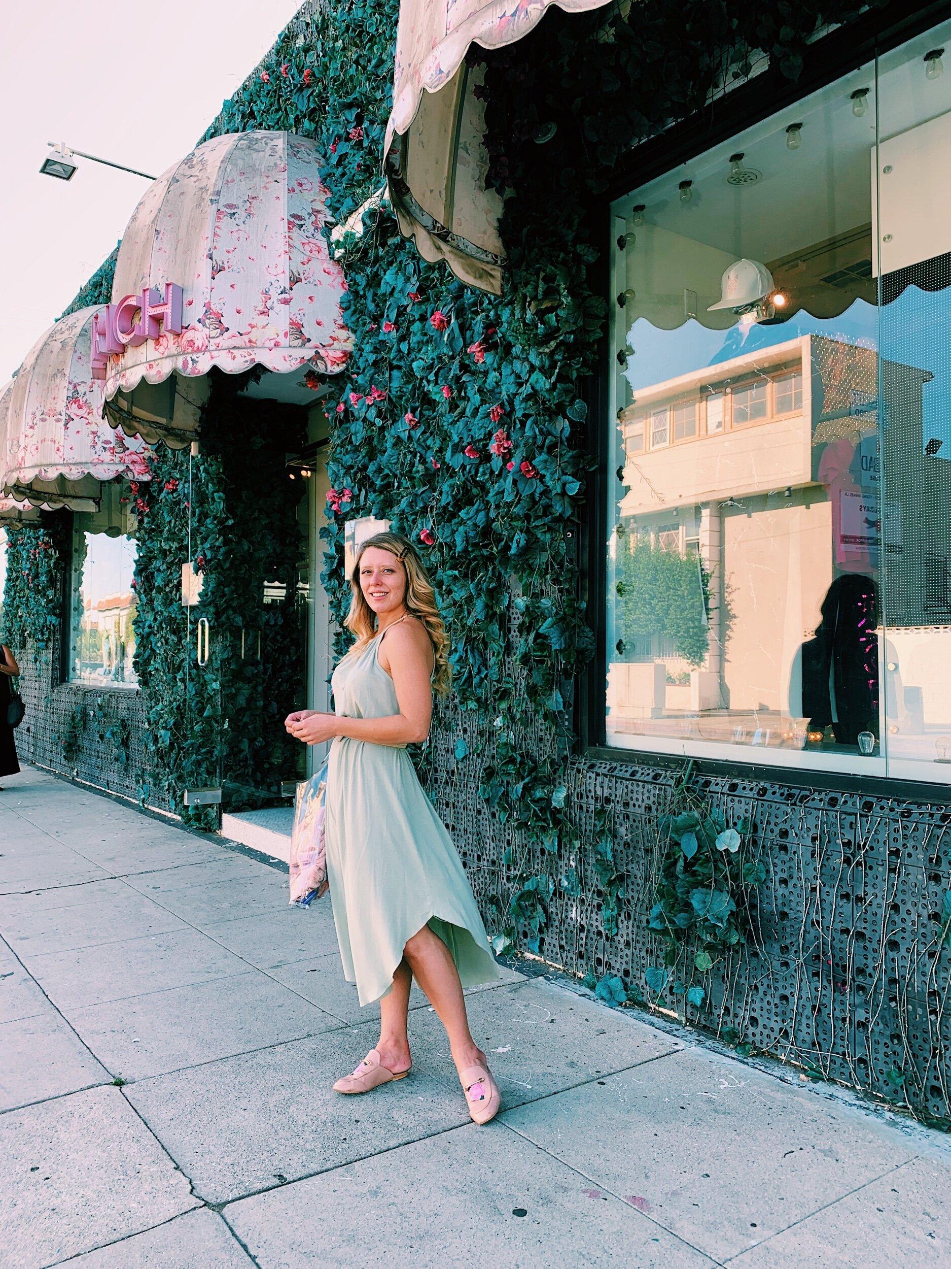 Three Heel Clicks - Shopping On Melrose Avenue