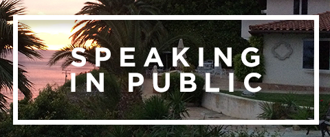 Speaking in Public |   Learn More
