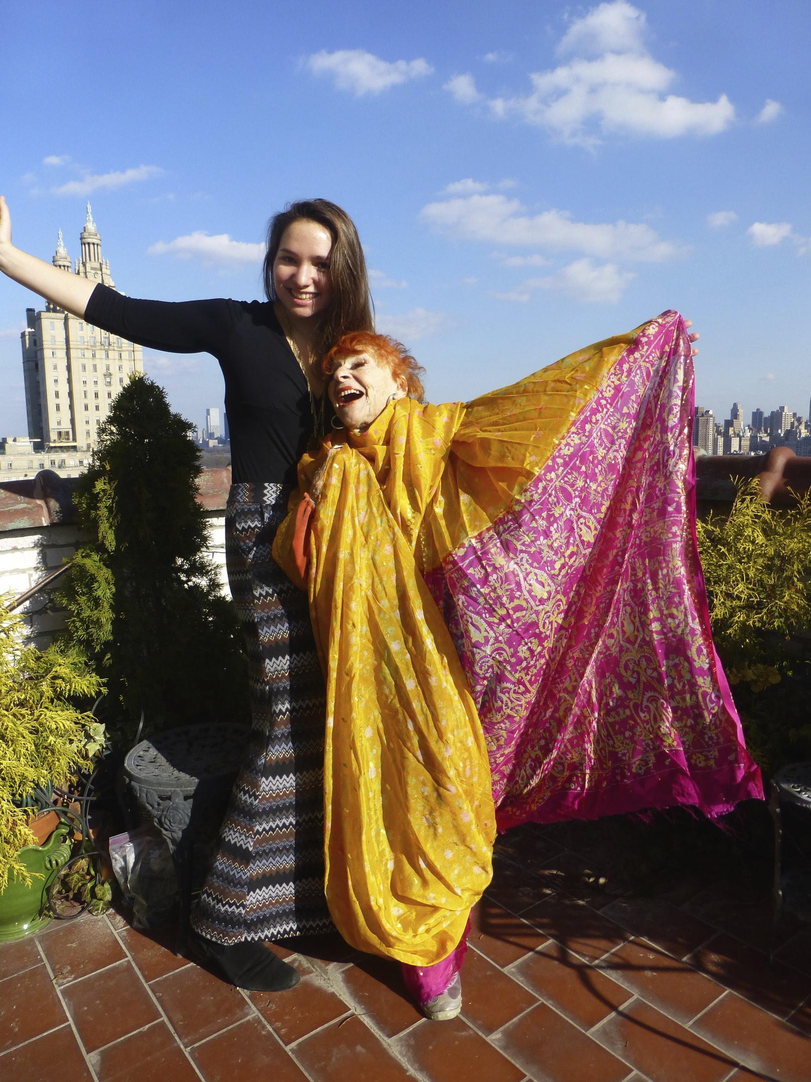 Margo and artist Ilona Royce Smithkin.