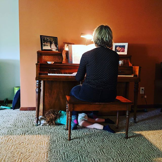 Music lover much? #sorelaxed #naptime #piano #music #family #traditions #blanket #sleep #lionking #canyoufeelthelovetonight
