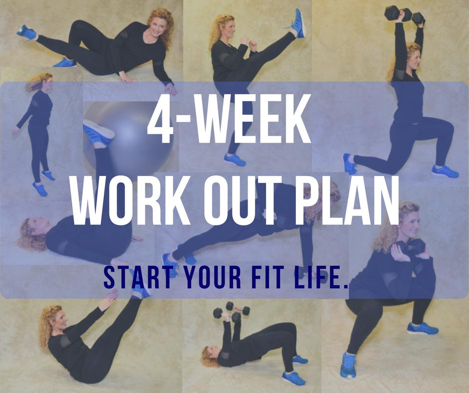 4-Week Workout Plan