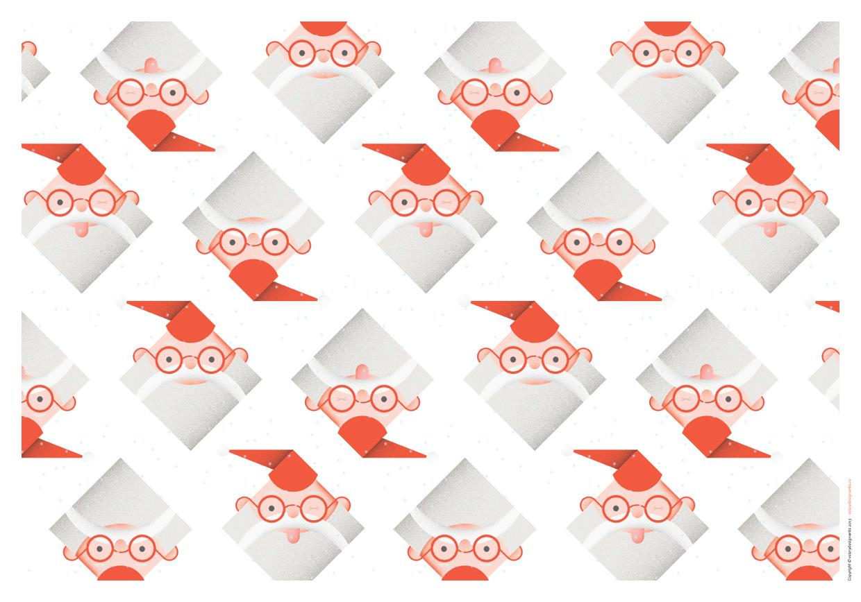 Gift wrap pattern