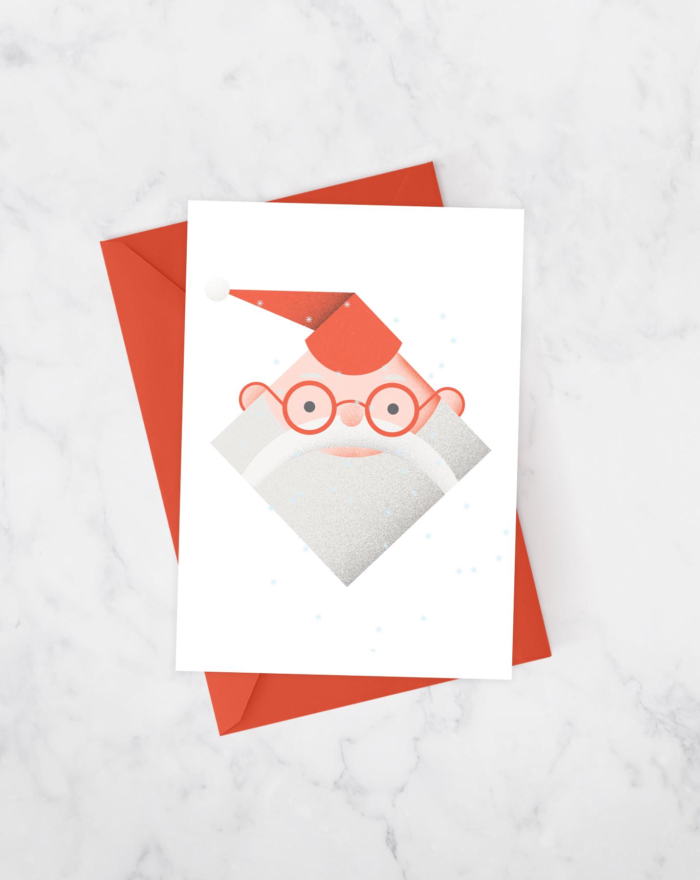 Monsieur Santa Card Set