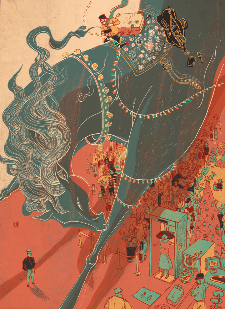 MoneyHorse, The New York Times - Source: victo-ngai.com