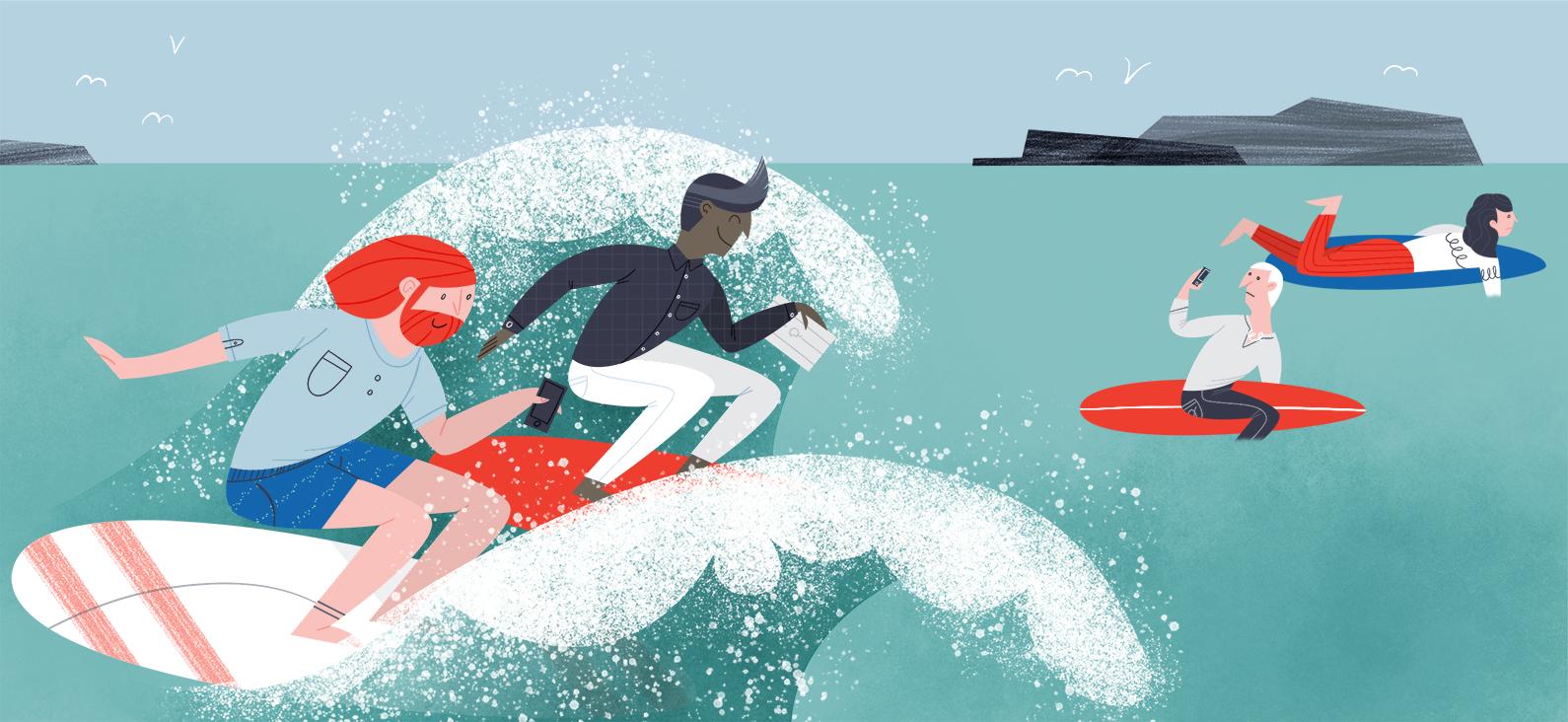Kiplinger's Personal Finance, December 2017 - Illustration: Valéry Goulet   -Art direction:  Yajaira A. St. Fleurant