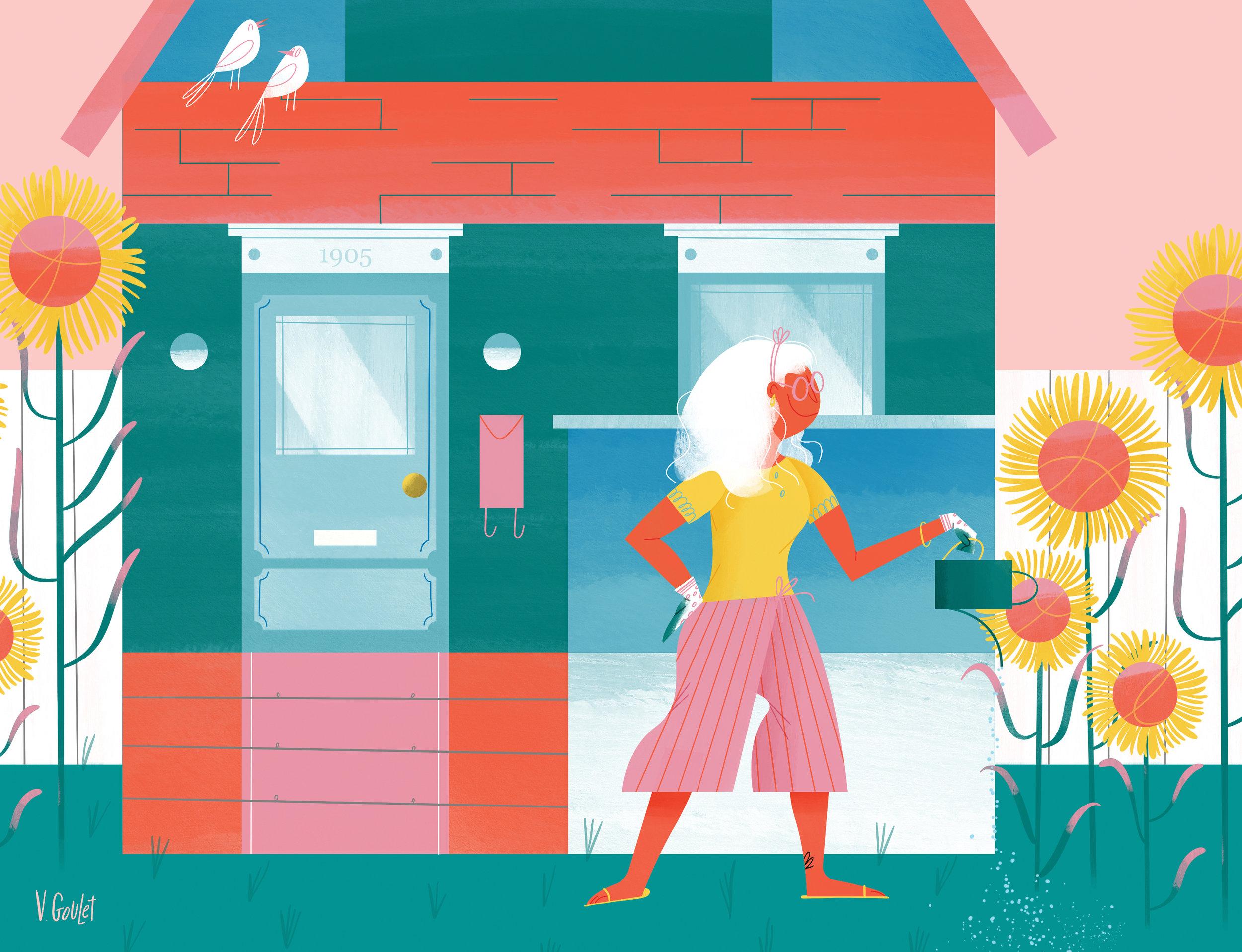 Avenue Edmonton, August 2019 - Illustration: Valéry Goulet - Art direction: Kim Larson