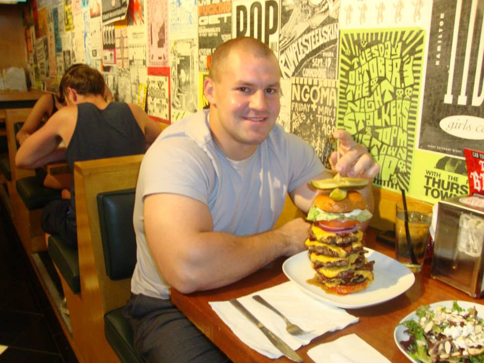 Brenden finished THE BEAST in record time 14 MINUTES!