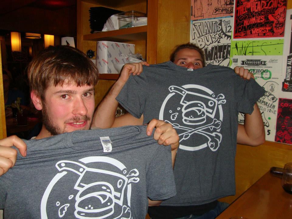 Happy (but full) WINNERS Nate & Thomas!