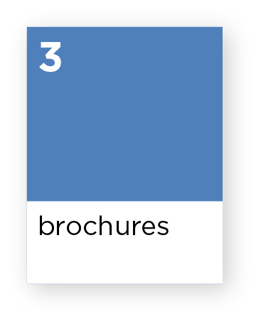 Brochure pricing and information
