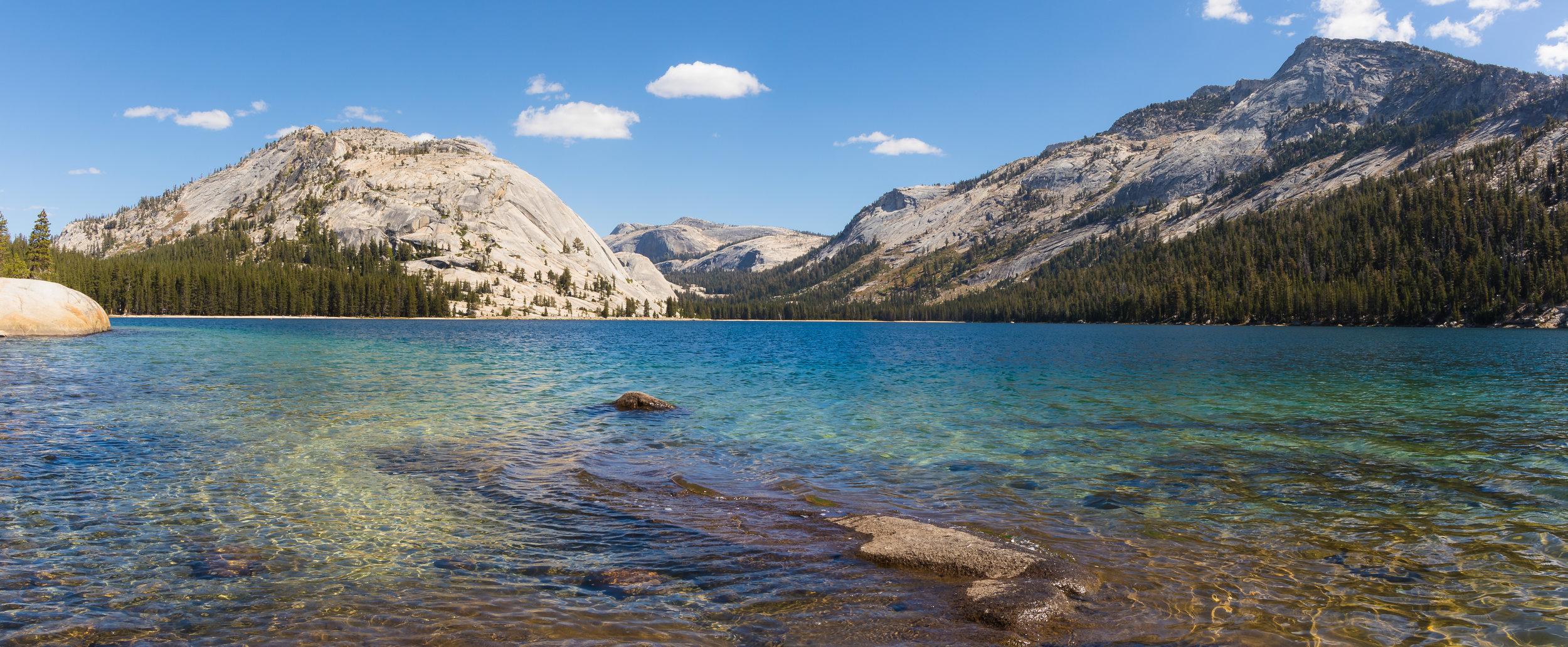 Tenaya Lake, Yosemite National Park, CA.