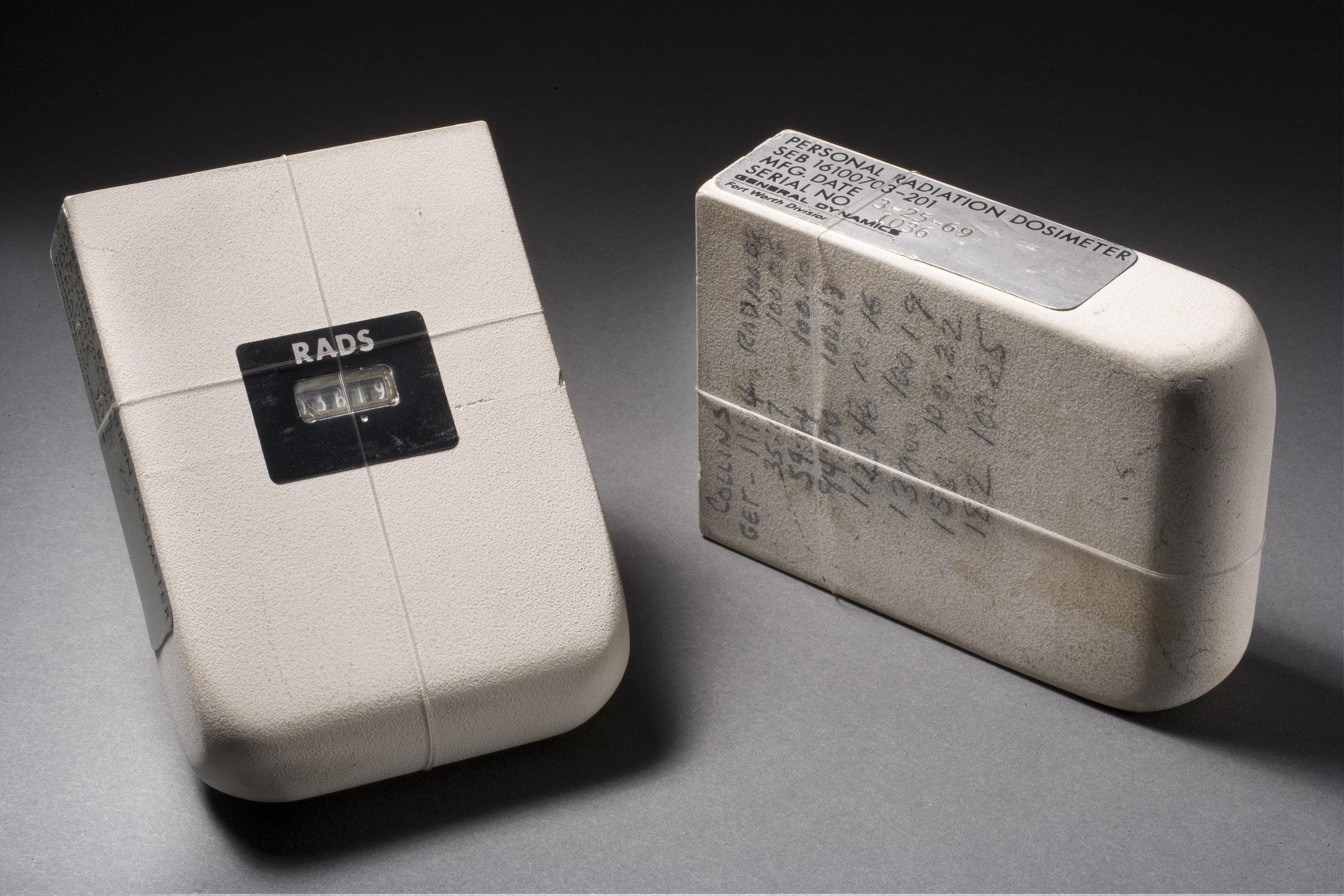 Personal Radiation Dosimeter (PRD) worn by Apollo astronauts