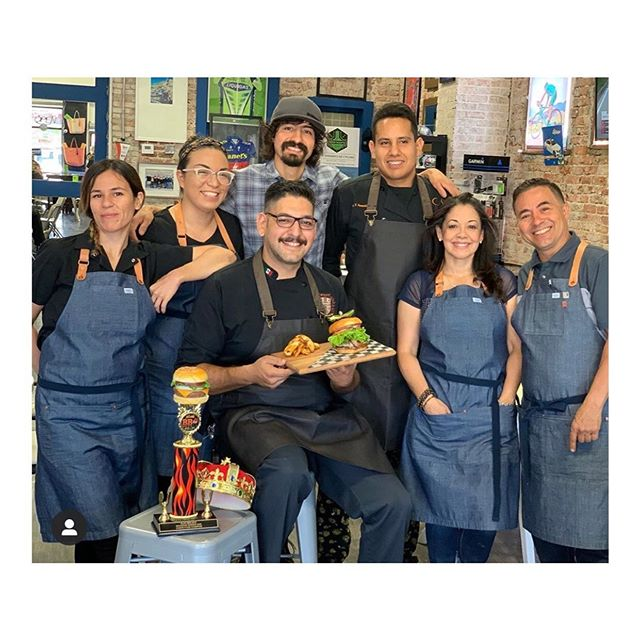 Wonderful staff photo by the folks @podiumfinishcafe in El Paso! Thank you for the shout out!! #soldout #mens #womens #industry #service #bestseller #9oz #chambray #selvedge