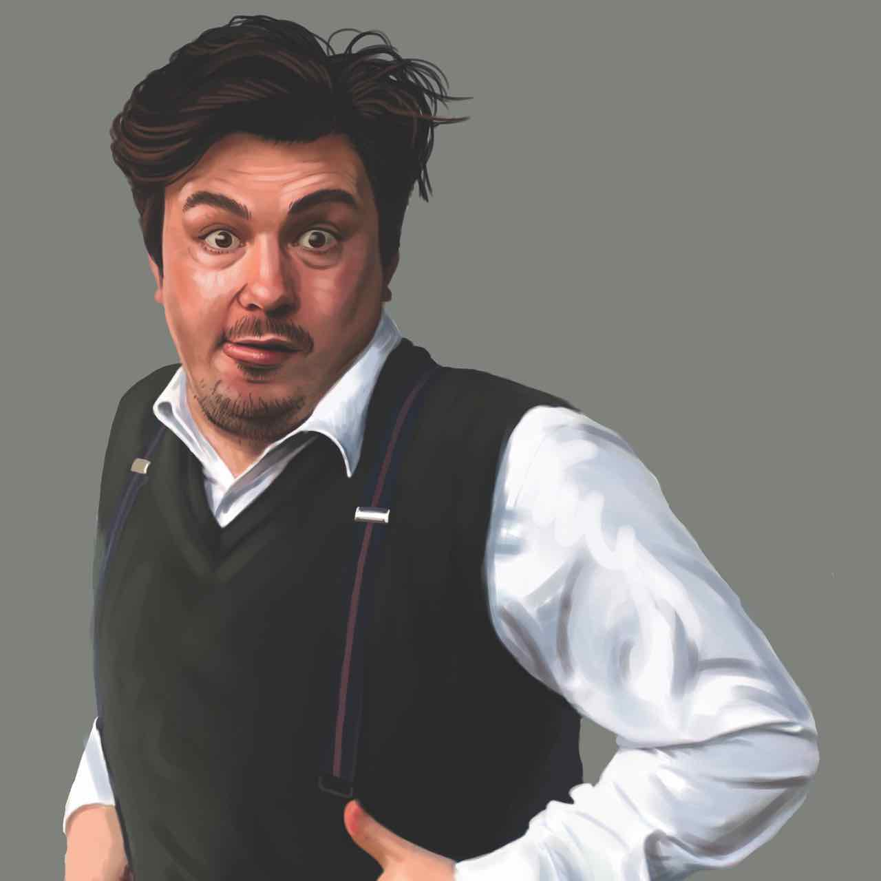 Alexander Sparrow is FRED FROM FEATHERSTON    7pm - The Royal Chamber
