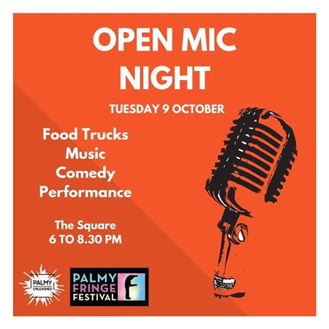 OPEN MIC NIGHT  6pm - The Square