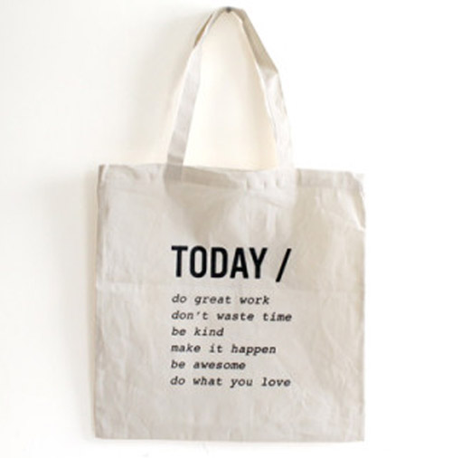 Simply Gifted:  Tote roundup featuring this tote by Oh, Hello Friend. Easy gift idea and gift wrap idea.