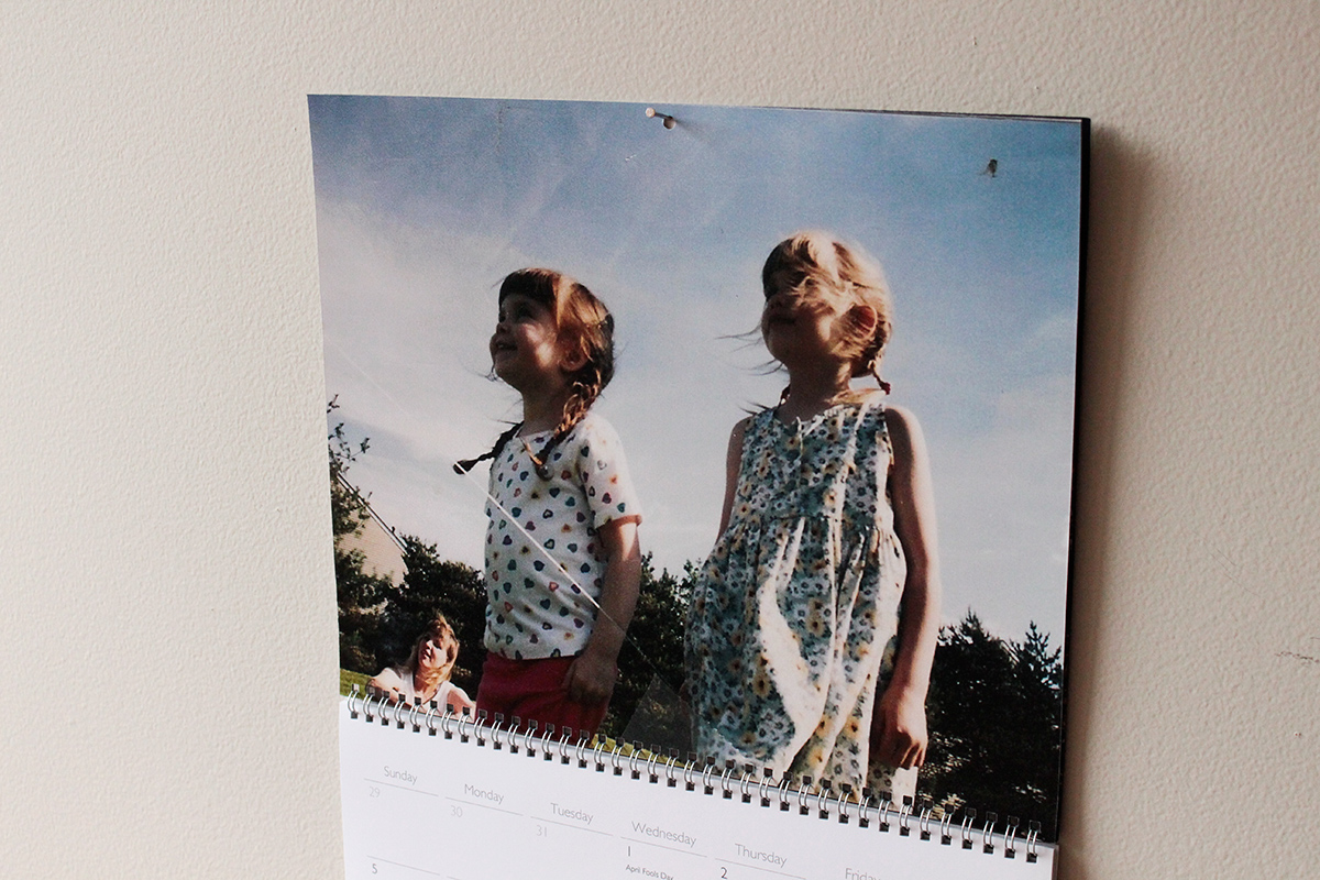 Simply Gifted:  Great holiday gift for a friend or family member. Take photos and make a photo calendar! Easy photo idea   that can double as wall art.