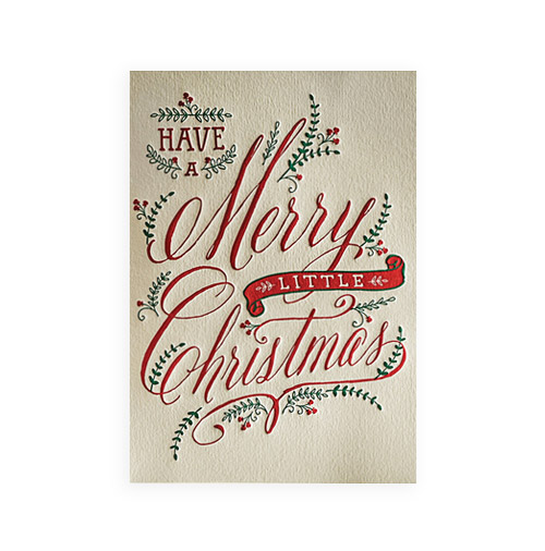 Simply Gifted:  Classy Christmas card by Elum.