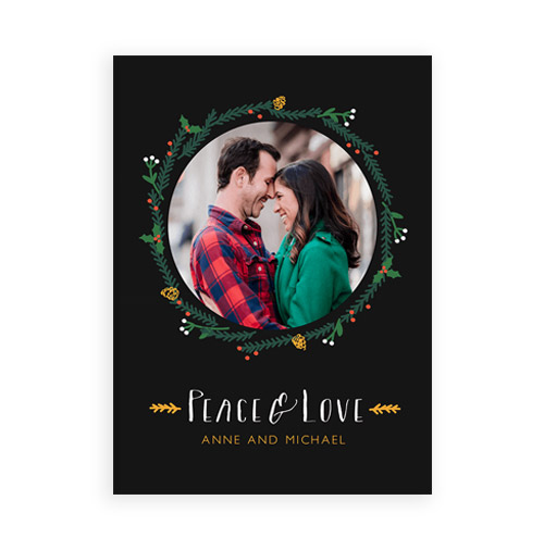 Simply Gifted:  Custom photo card by Postable.