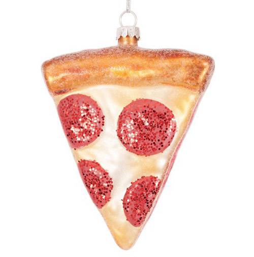 Simply Gifted:  Pizza ornament by Target.