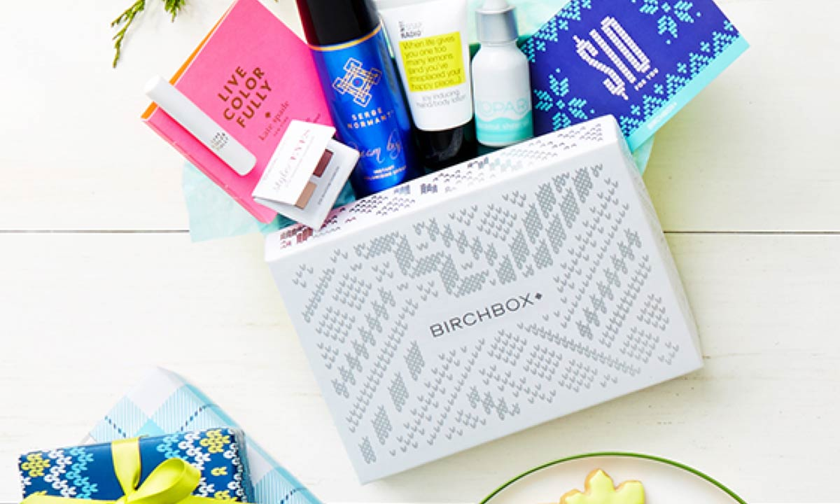 Simply Gifted:  Birchbox Subscription Box.
