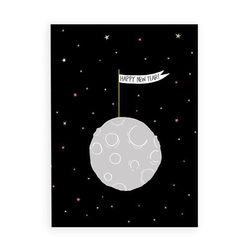 Simply Gifted: Happy New Year card by Carolyn Suzuki.
