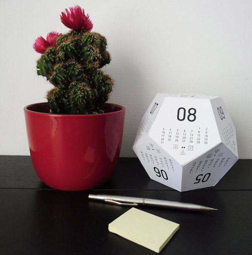Simply Gifted:  Desk Calendar by Raven Juice.