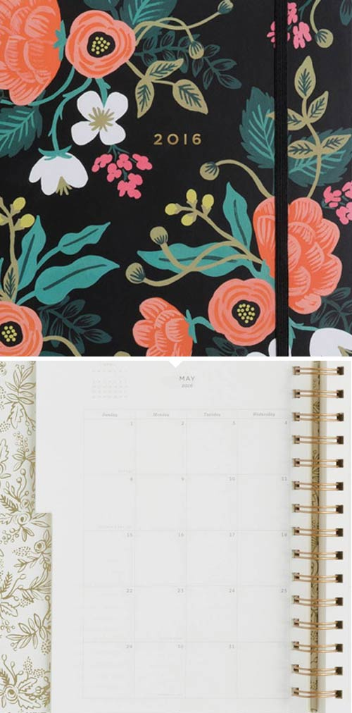 Simply Gifted:  Planner by Rifle Paper Co.