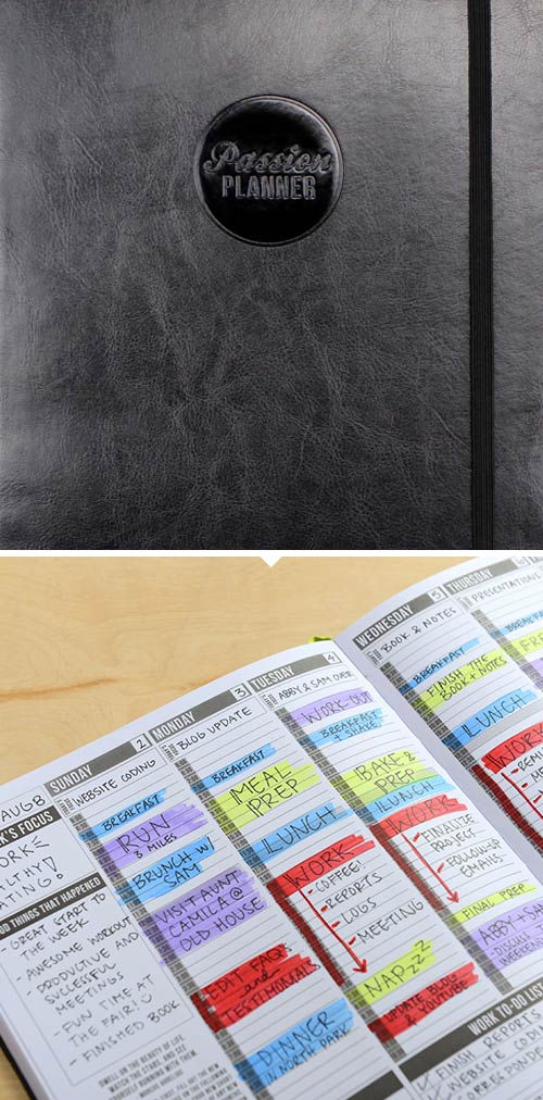 Simply Gifted:  Planner by Passion Planner.