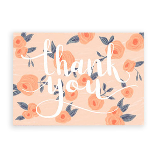 Simply Gifted:  Thank You Postcard set by Lux and Trip.
