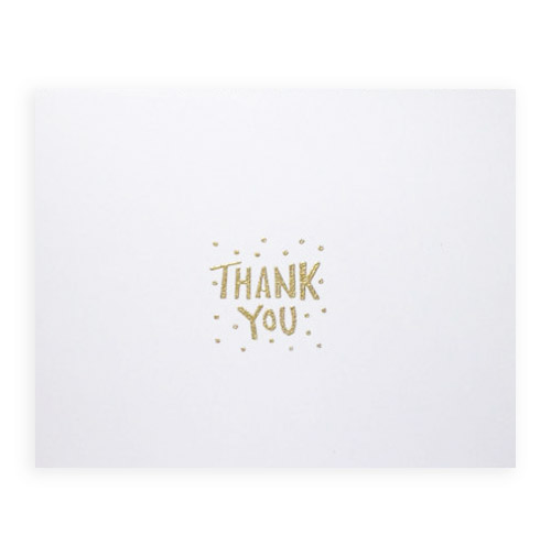 Simply Gifted:  Thank You Card set by Designing Moments.