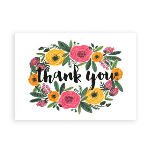 Simply Gifted:  Thank You Card set by Simply C Boutique.