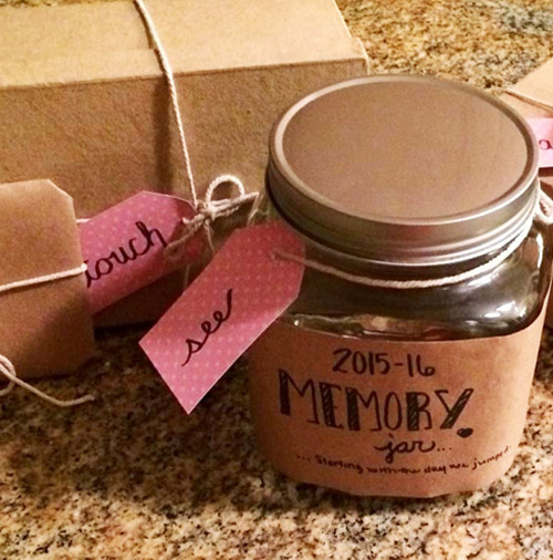 Bethany's take on the jar gift. Photo by her.
