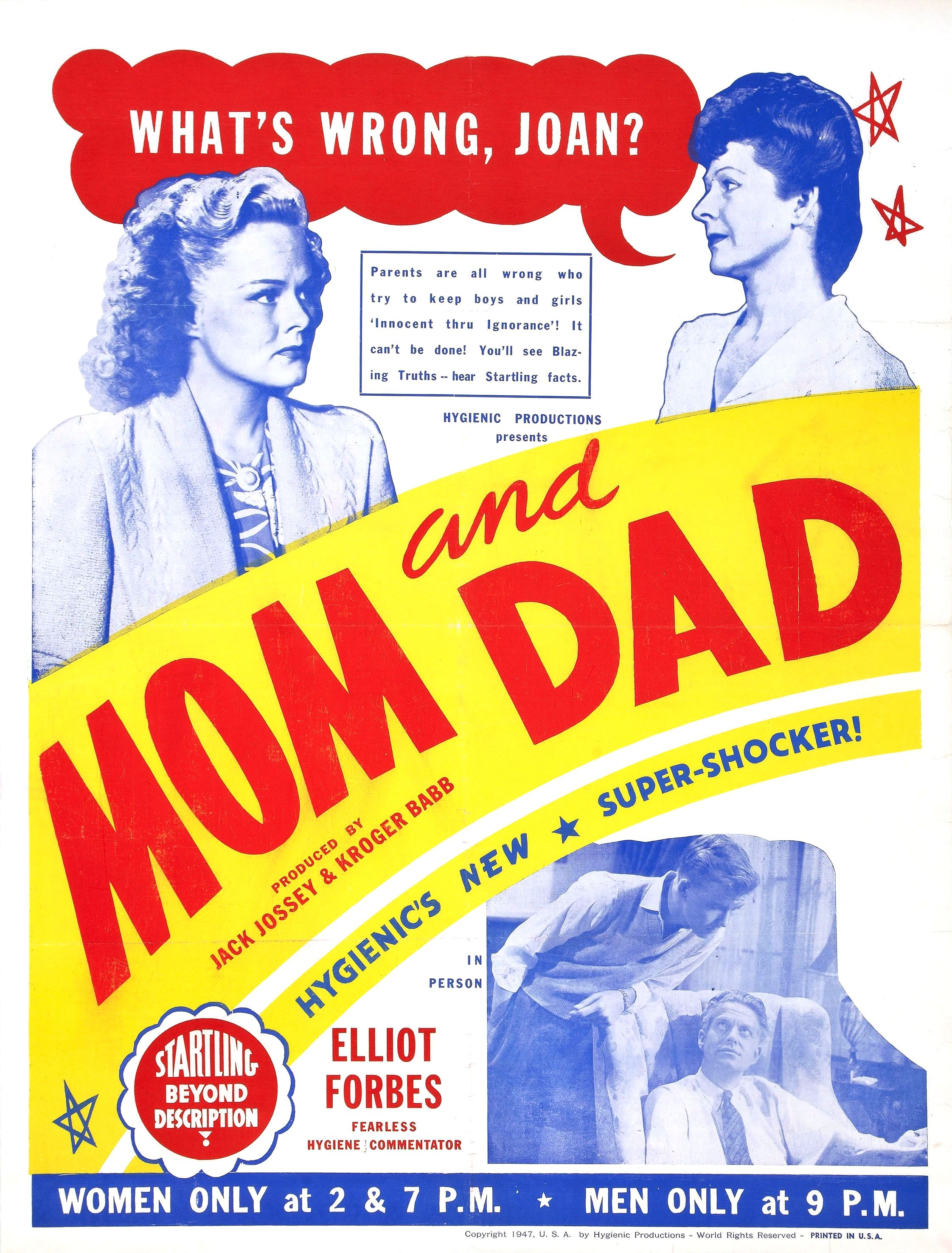 vintage parent ed poster