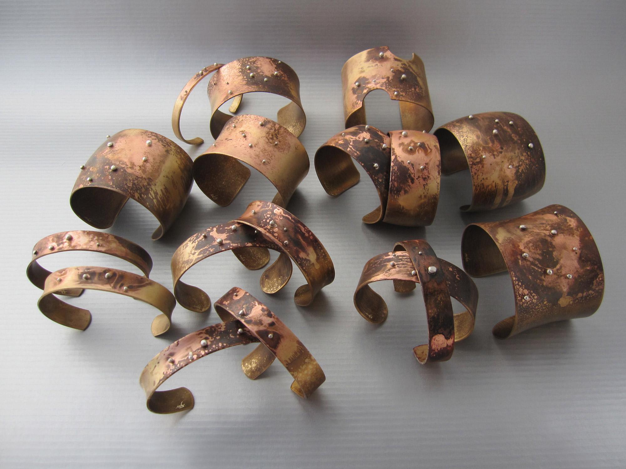 terra e sassolini bracelets