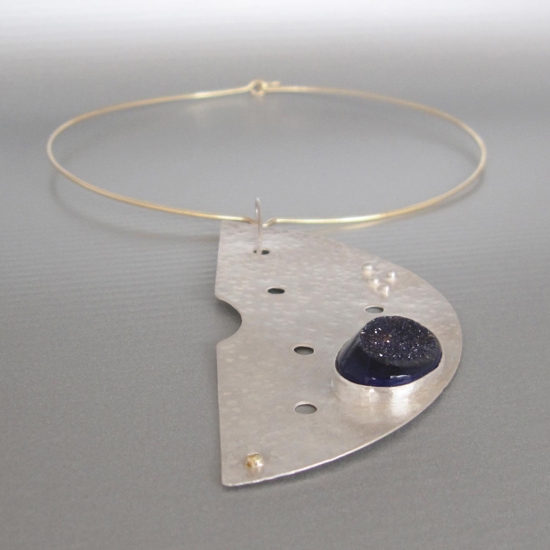 mezzaluna necklace