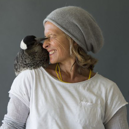 Sam and the magpie that saved her from depression image: ©Cameron Bloom