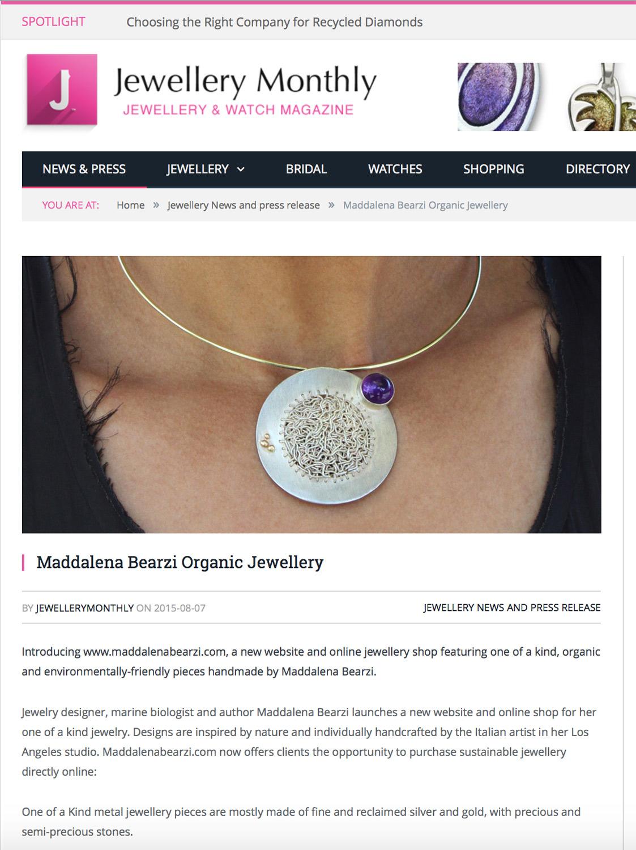 Jewellery Monthly