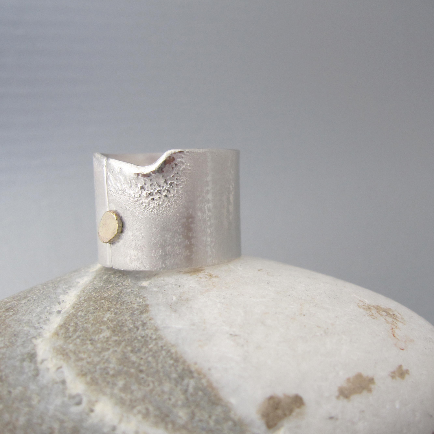 Another unique and handcrafted jewelry piece designed with nature in mind