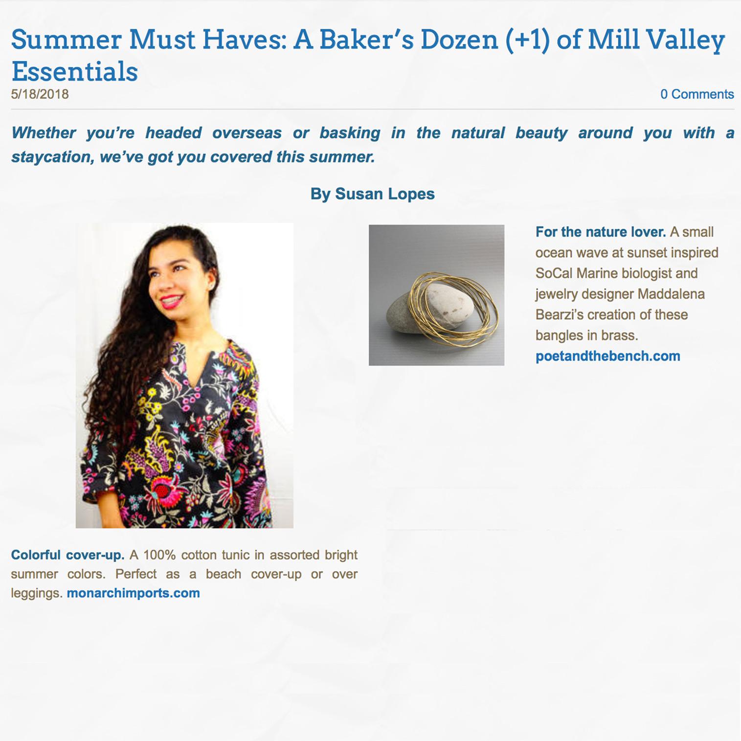 Enjoy Mill Valley Magazine
