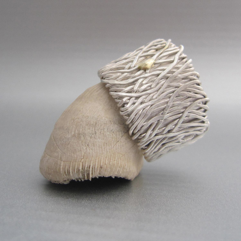 fili d'erba bianca ring