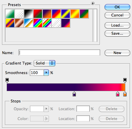 Select 3 colors, dark to light. This is the fun part. Make sure this layer is over the images and not the text.