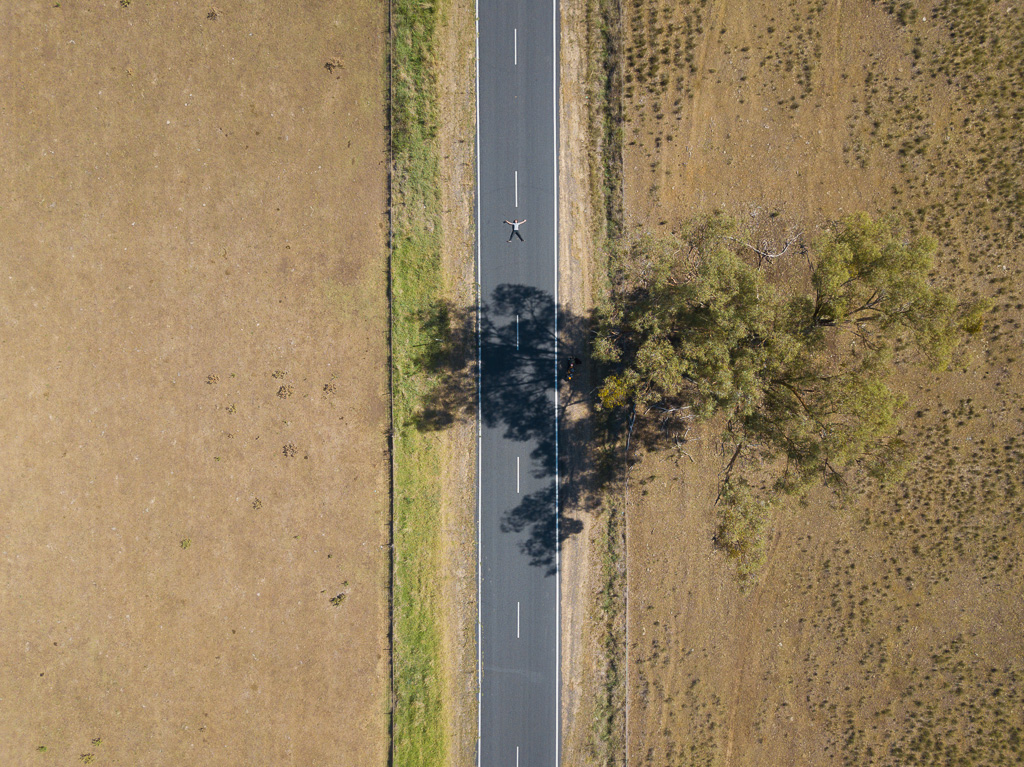 - The road stretches out before me; before I have even lifted my feet and kicked the kickstand. The road is long and rough, undulated and unforgiving.'The road is just a road' I tell myself