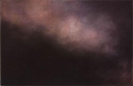 Etude de nuage – le rouge, 2006/07, oil on linen, 31 x 47cm