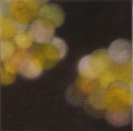 La Lumiere Artificielle - en fleur, 2006-2007, oil on linen, 31x31cm