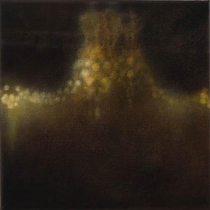 La Lumiere Artificielle - le lustre, 2006-2007, oil on linen, 31x31cm