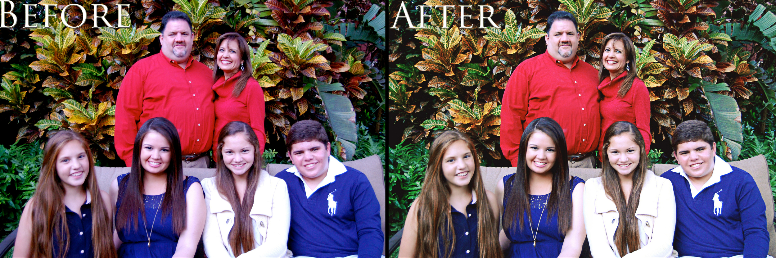 Fernandez Family || Before & After